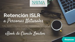 Retencion ISLR Personas Naturales Libro Digital de Camilo London