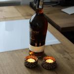 Dřevěná knihovna - dubový stůl