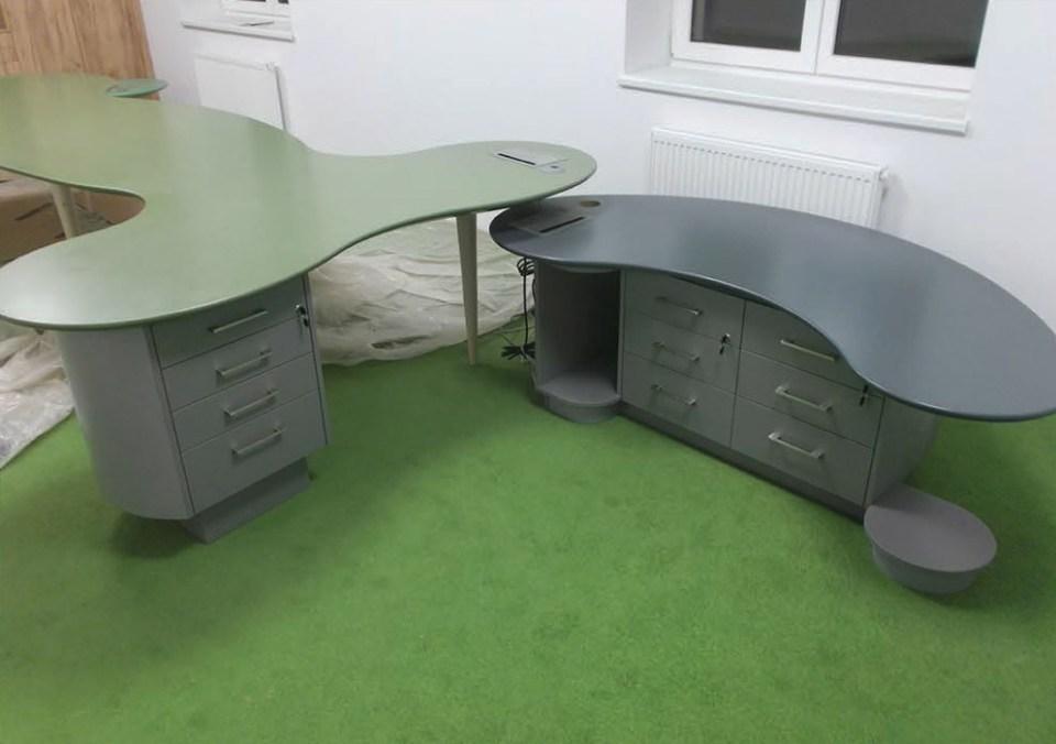 Výroba kancelářského nábytku