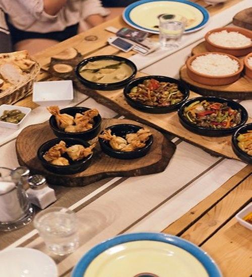 Baraka- Hisarönü-yemekler