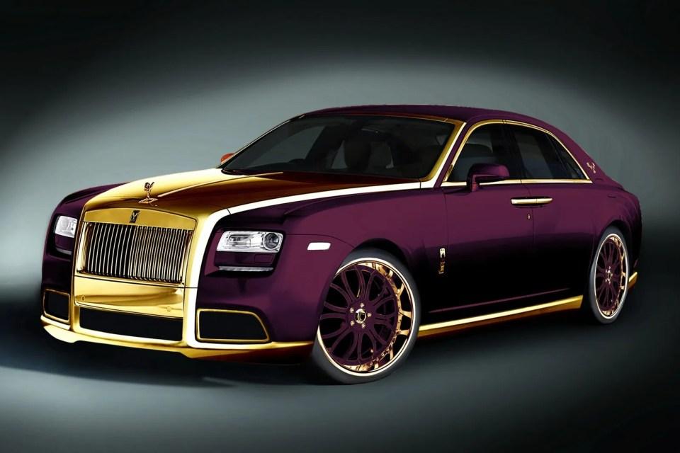 Rolls-Royce-Fenice-Milano-Purple-RR-ghost-1