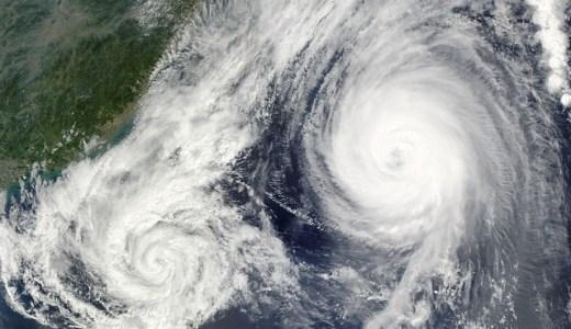 沖縄!台風がくる時期は?過去データから!