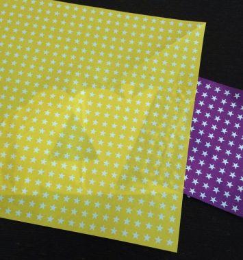 折り紙を張り付け