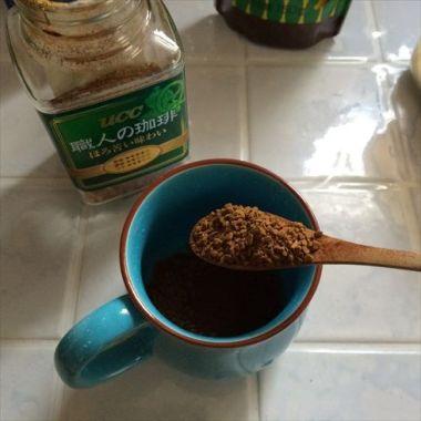 コーヒー投入