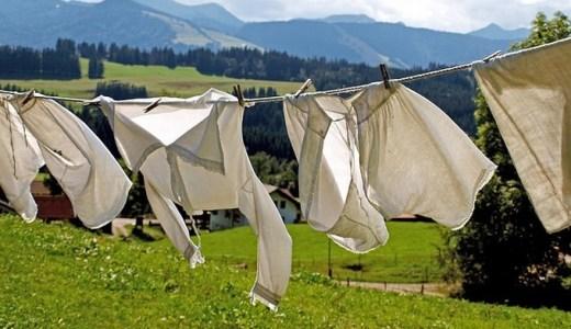 洗濯物が生乾き!臭いの対策はどうする?オススメの5選!