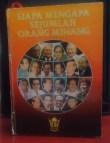 """Buku """"Siapa Mengapa sejumlah Orang Minang"""" - Ed Zulverdi & Nazif Basir"""