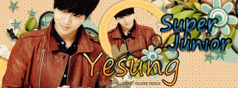 Yesung kim jong woon super junior facebook cover by nazimah elfish