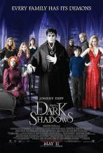 Dark shadows poster movie