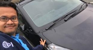 Penampakan Toyota Sienta Hitam Metalic di Jepang