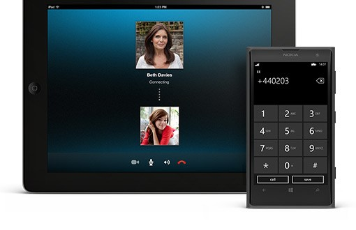 skype temporary phone number