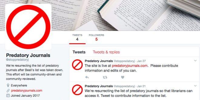 predator jurnal