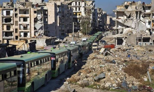Συρία: Εκατοντάδες άνθρωποι απομακρύνθηκαν από το Χαλέπι (pics ...