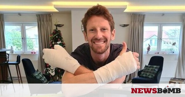 facebookRomain Grosjean 2