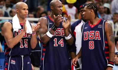 Carmelo Anthony et Richard Jefferson aux JO 2004