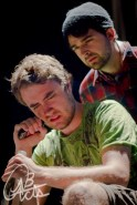 "Alex Donovan and Jacob Martin in ""The Fried Fox Variation"" 2012 One Act by Michael Woodside (photo: Joshua Laplap)"