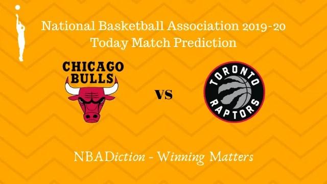 bulls vs raptors 27102019 - Bulls vs Raptors NBA Today Match Prediction - 27th Oct 2019