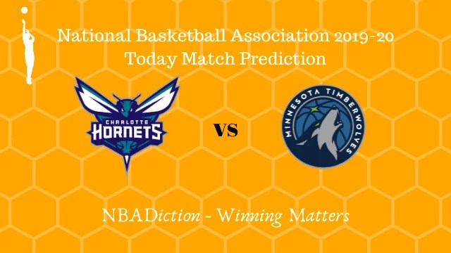 hornets vs timberwolves 26102019 - Hornets vs Timberwolves NBA Today Match Prediction - 25th Oct 2019