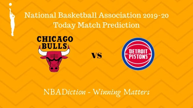 bulls vs pistons prediction 21112019 - Bulls vs Pistons NBA Today Match Prediction - 21st Nov 2019