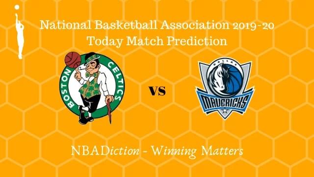 celtics vs mavericks 12112019 - Celtics vs Mavericks NBA Today Match Prediction - 12th Nov 2019
