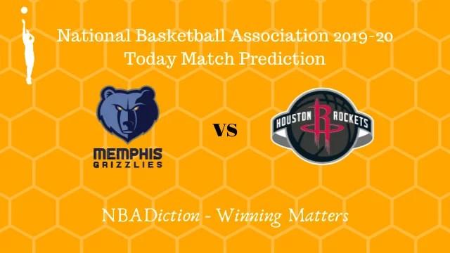 grizzlies vs rockets 05112019 - Grizzlies vs Rockets NBA Today Match Prediction - 5th Nov 2019