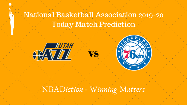 jazz vs 76ers 07112019 - Jazz vs 76ers NBA Today Match Prediction - 7th Nov 2019