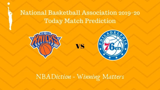 knicks vs 76ers prediction 30112019 - Knicks vs 76ers NBA Today Match Prediction - 30th Nov 2019