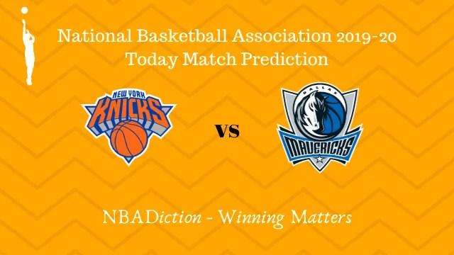 knicks vs mavericks 15112019 - Knicks vs Mavericks NBA Today Match Prediction - 15th Nov 2019