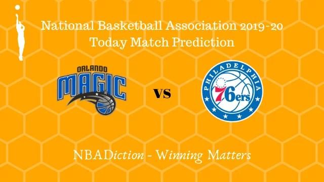 magic vs 76ers 14112019 - Magic vs 76ers NBA Today Match Prediction - 14th Nov 2019