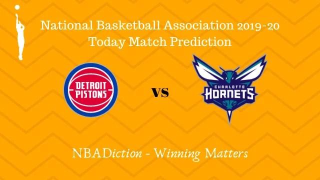 pistons vs hornets prediction 30112019 - Pistons vs Hornets NBA Today Match Prediction - 30th Nov 2019