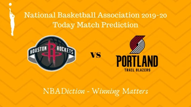 rockets vs trailblazers prediction 19112019 - Rockets vs Trailblazers NBA Today Match Prediction - 19th Nov 2019