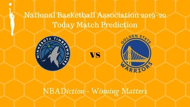 timberwolves vs warriors 09112019 - Timberwolves vs Warriors NBA Today Match Prediction - 9th Nov 2019