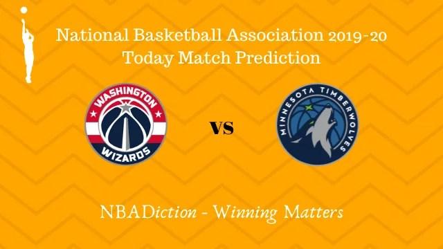 wizards vs timberwolves 03112019 - Wizards vs Timberwolves NBA Today Match Prediction - 3rd Nov 2019