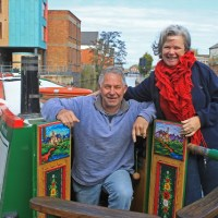 Living and trading on a narrowboat