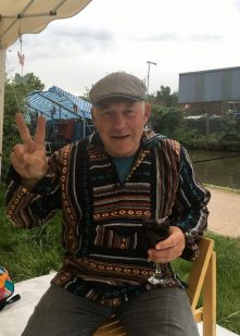 Barry finally invested in a colourful top from The Hippie Boat