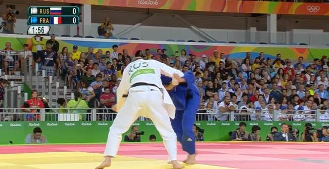 Watching Judo on NBC during the Summer Olympics