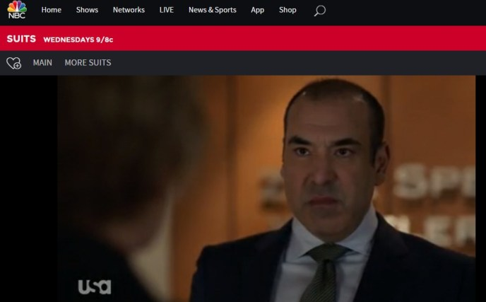 Did you know that you can watch Suits season 9 at the NBC website?