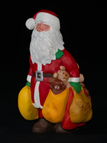 Santa with teddies