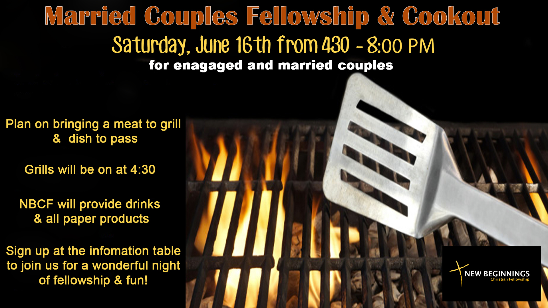 Married Couples Fellowship Cookout