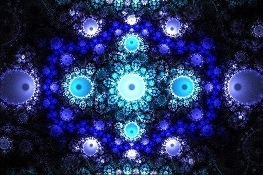 Grand Julian Blue fractal