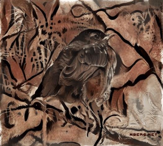 Robin cave paint deep dream