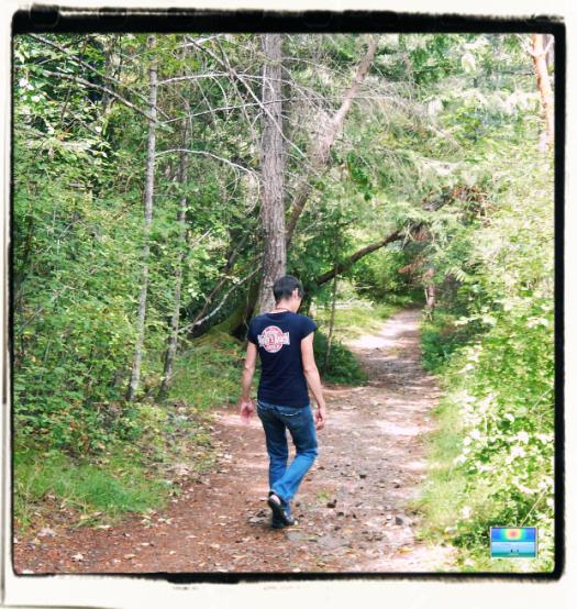 Enos Lake Hike 2