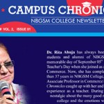 Newsletter : July to December 2018