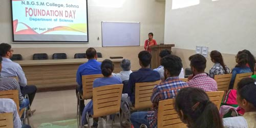 Department of Science Celebrates its 2nd Foundation Day