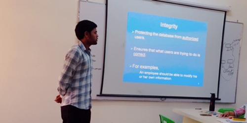 Paper Presentation on Database Management System