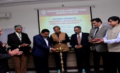 "National Seminar on  ""Challenges and Opportunities in Commerce and Management"""