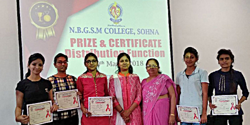 Prize and Certificate Distribution Function
