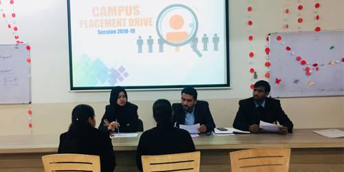 Campus Placement Drive