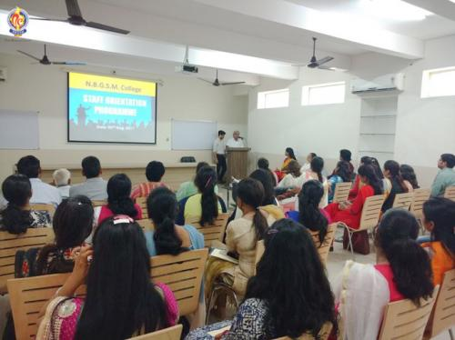 Dr. Ashok Diwakar presented his views on Teaching skills and motivation