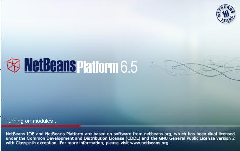 Splash Screen for empty NetBeans Platform Application