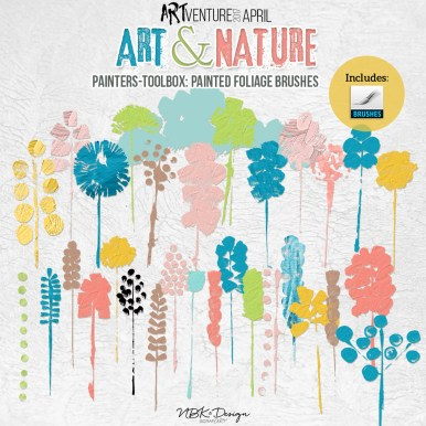 nbk-artANDnature-PT-Brushes-foliages-painted